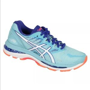 Asics Gel Nimbus 20 Running Shoes Porcelain Blue